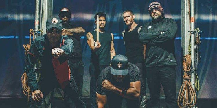 Prophets of Rage Band Photo Heart Afire Single Live