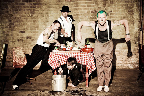 Red Hot Chili Peppers Start A New Album Says Vocal Anthony Kiedis