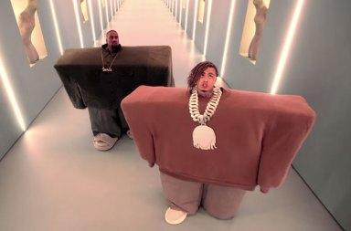 "Spike Jonze Yapımcılığında Kanye West ve Lil Pump ""I Love It"" Klibi"