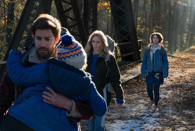 A Quiet Place 2 Movie John Krasinski Confirms Writing Sequel and Cinemas on 2020