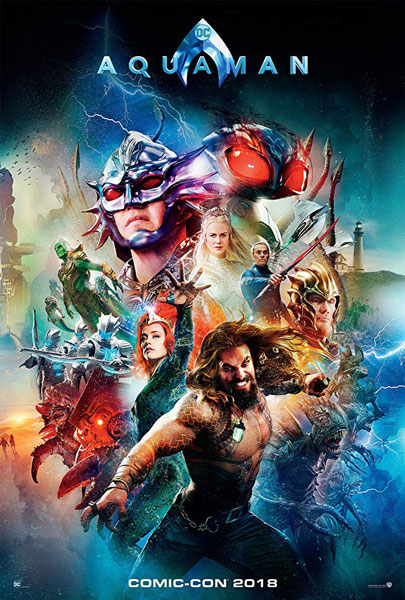 New and Final Aquaman Trailer One More Before Release on Cinemas