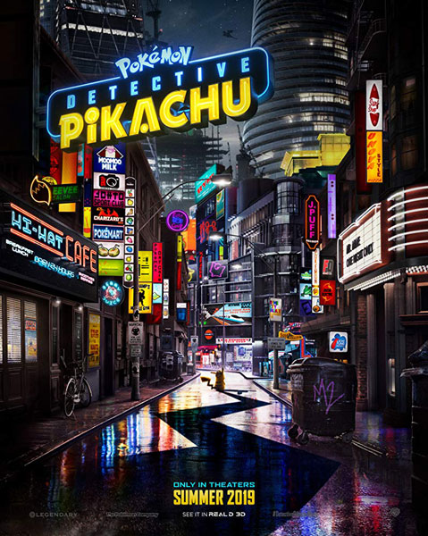 Ryan Reynolds Plays Pikachu in the POKÉMON Detective Pikachu First Trailer