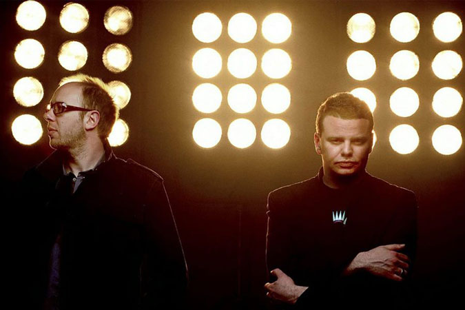 The Chemical Brothers Band Photos