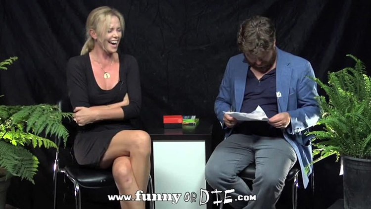 between two ferns zach galifianakis charlize theron