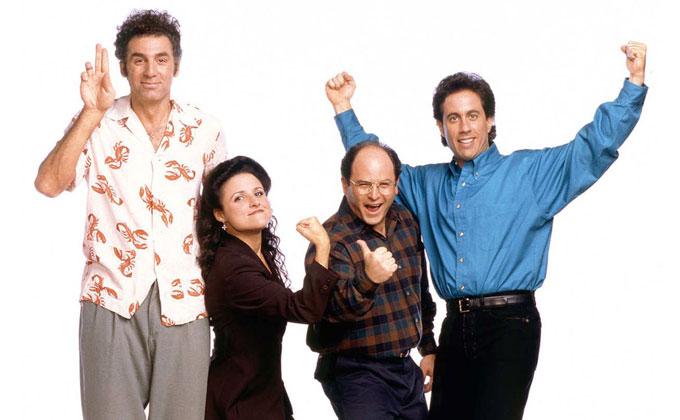 Seinfeld dizisi 2021 tarihinden itibaren Netflix ekranlarında yayında!