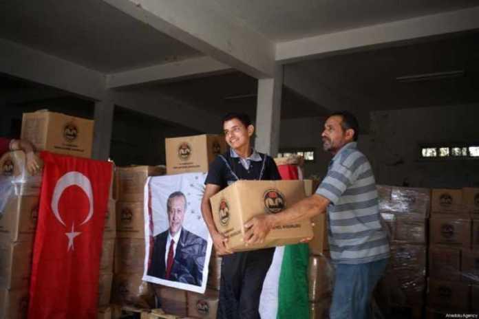 Turki, Palestina