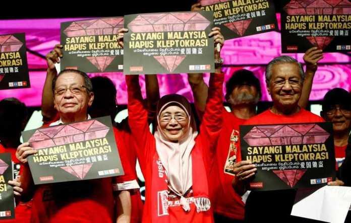 Demo gulingkan PM Najib Razak