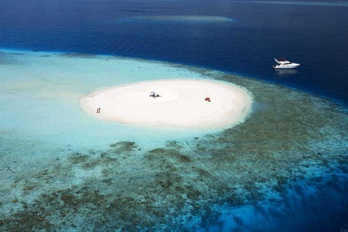 Sandbank Maladewa