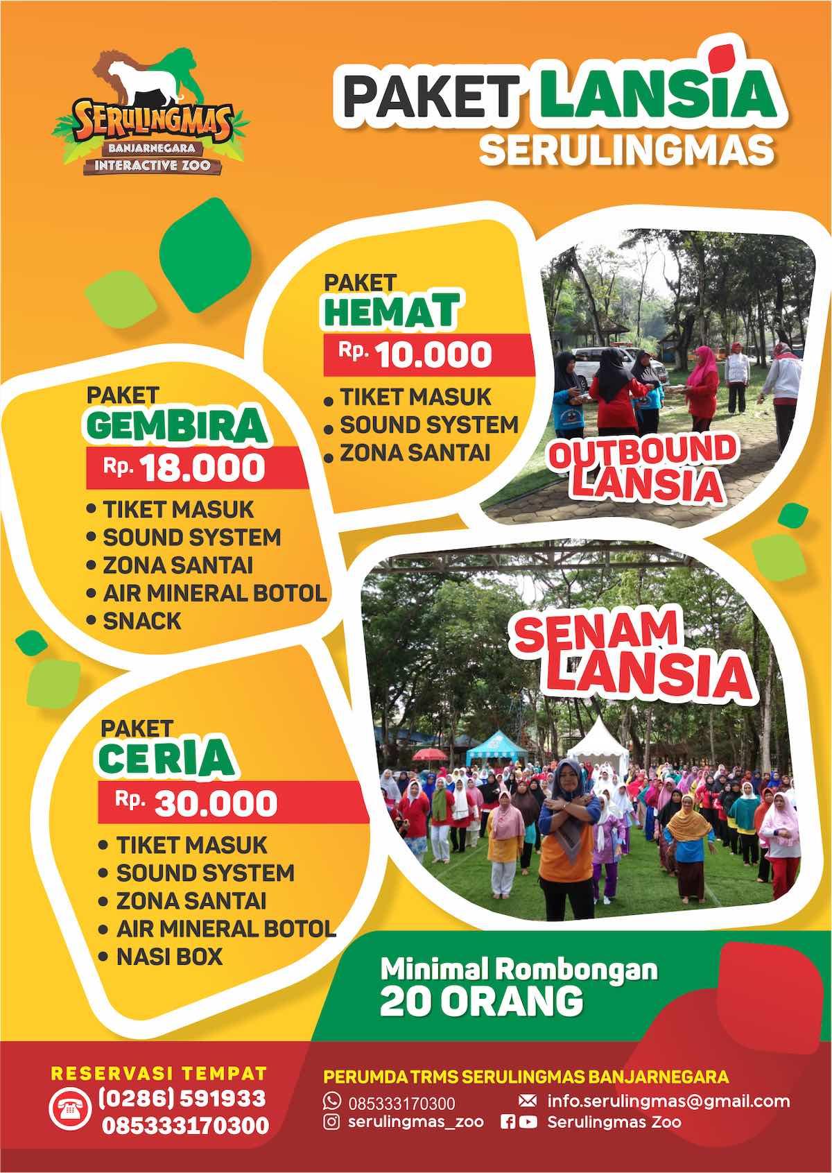 Tiket Masuk Trms Serulingmas Banjarnegara Info Wisata Hits