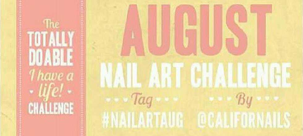 August 2017 Nail Art Challenge Grant And Recreation