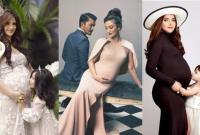 Tak Harus Pamer Aurat, 11 Foto Kehamilan Seleb ini Malah Terlihat Berkelas dengan Gaun Tertutup!