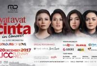 """Konser """"Colours of Love"""" Ayat Ayat Cinta 2 Satukan 4 Diva Tanah Air"""