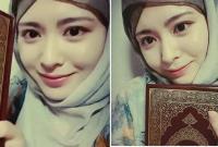 Ayana Moon, Mualaf  Asal Korea yang Juga Hijabers dan Selebgram