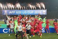 Timnas Indonesia Sabet Gelar Juara Piala AFF U-22 2019