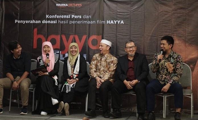 Tembus 720 Ribu Penonton, Hayya The Movie Beri Donasi untuk Palestina