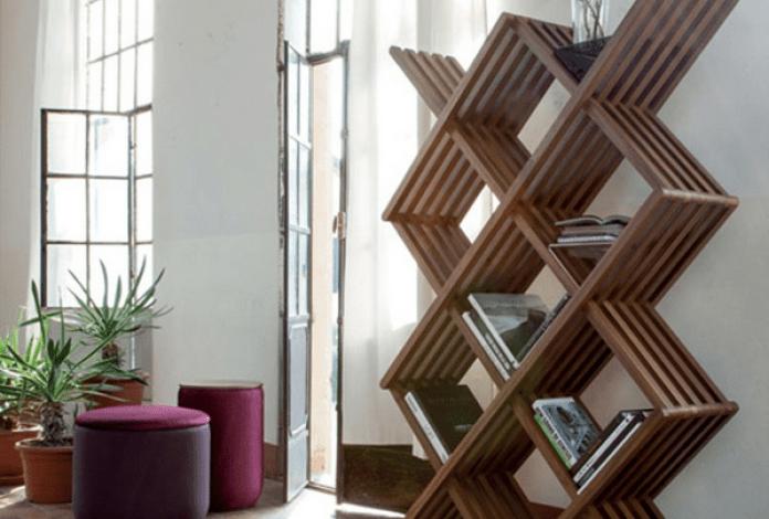 10 Ide Rak Buku Minimalis, Bikin Kamu Betah Baca di Rumah