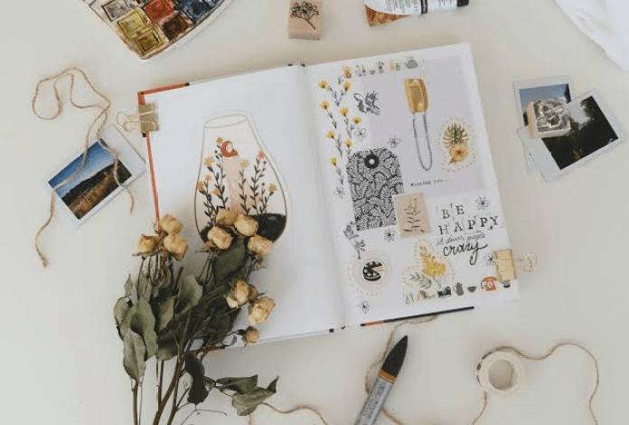 6 Cara Membuat Scrapbook Simpel di Rumah dengan Bahan Sederhana