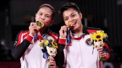 Gresyia Polli dan Apriyani Rahayu Raih Medali Emas di Olimpiade Tokyo 2020