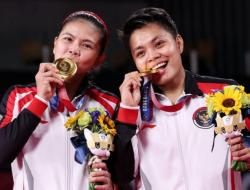 Greysia Polii dan Apriyani Rahayu Raih Medali Emas di Olimpiade Tokyo 2020
