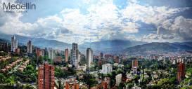 Hermosa panoramica de Medellin Colombia