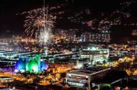 Medellin de noche hermosa
