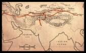 Ancient Silk Road Map