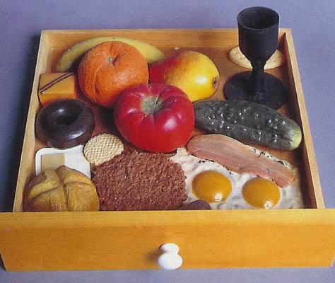 claes-oldenburg-false-food-selection