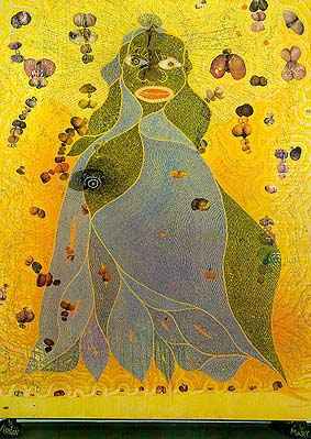 Chris Ofili - The Holy Virgin Mary 1996