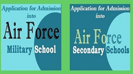 Photo of Air Force Secondary Schools Admission Form 2020/2021