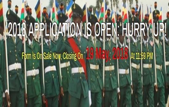 Nigerian military school application form