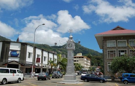 seychelles clock tower