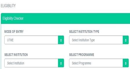 JAMB IBASS course eligibility checker