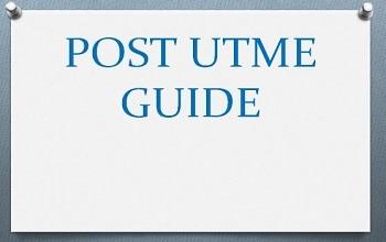 post utme guide