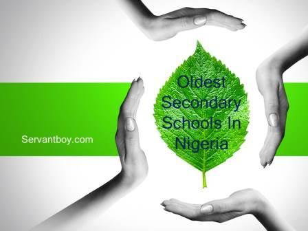 Oldest Secondary Schools In Nigeria