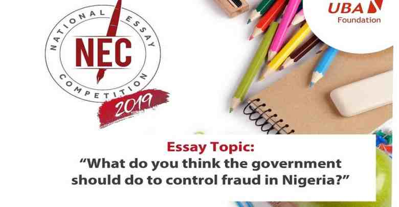Photo of UBA Essay Competition 2020 For Secondary School Students