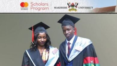 Photo of MasterCard Foundation Scholars at Makerere University 2020/2021
