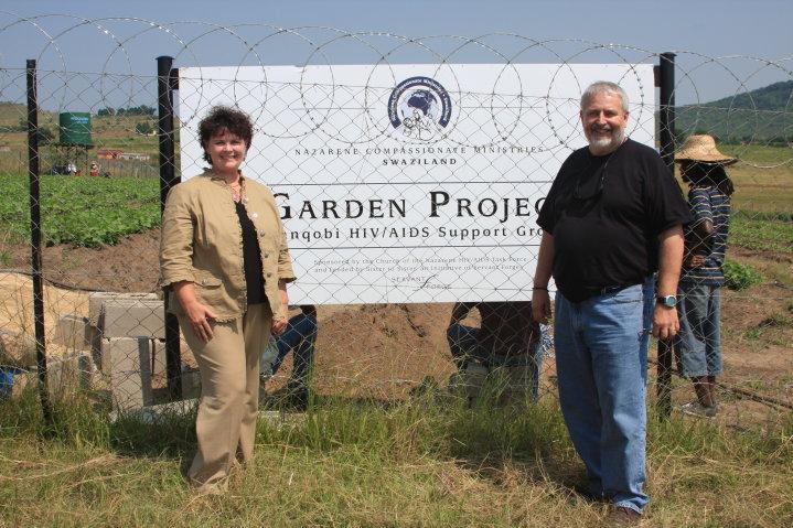 Garden Project in Swaziland