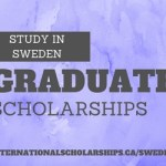 Sweden – Full Scholarships to study at the Graduate Level