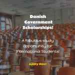 Danish Government Scholarships – International Students