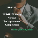 RUFORUM Young African Entrepreneurs Competition
