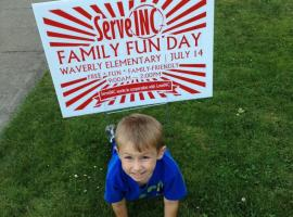 2012 Family Fun Day at Waverly Elementary