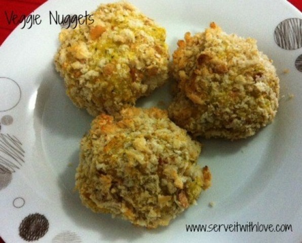 Baked Veggie Nuggets Recipe
