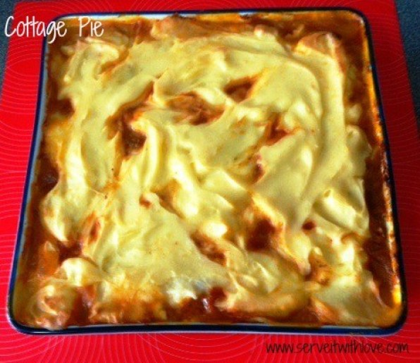 Simple Cottage Pie Recipe