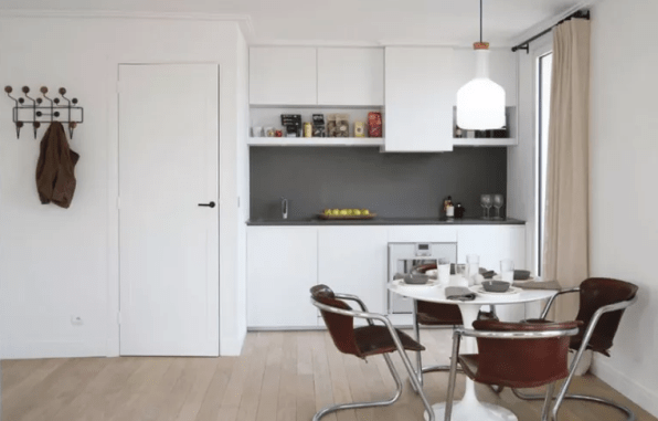 Very Small and Simple Kitchen Design