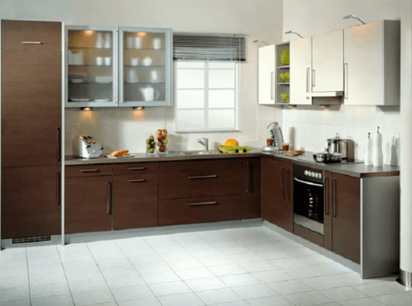 Modern Kitchen Cabinet Design L Shape