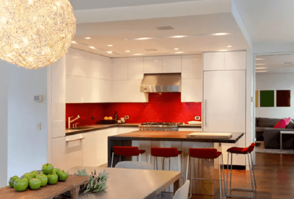 L Shaped Kitchen Countertops