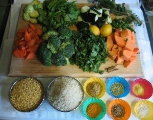 khichari ingredients: