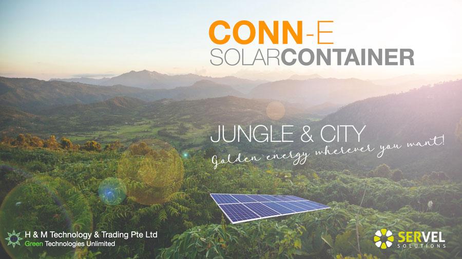 CONN-E contenedor solar