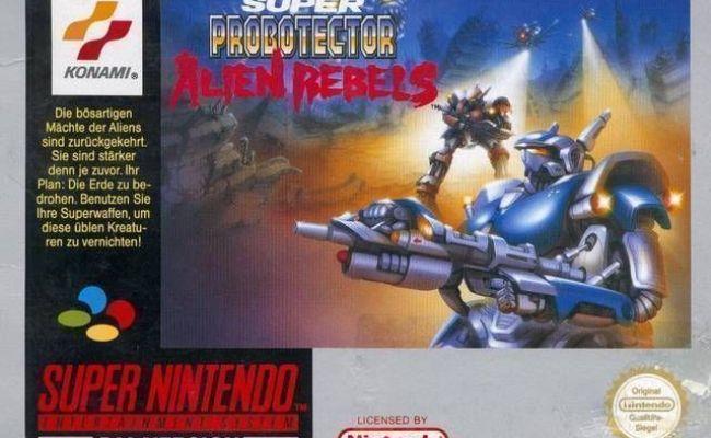 Super Probotector The Alien Rebels Rom Super Nintendo