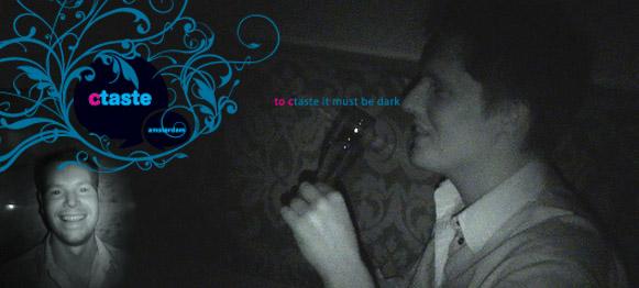 Dineren in het donker bij Ctaste Amsterdam  10 reviews